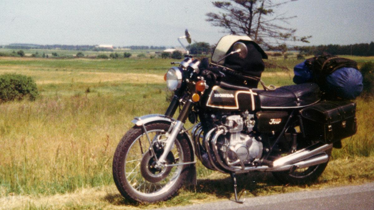 Honda CB 350 Four 2b