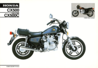 Honda CX 500 Custom b1